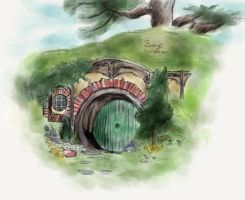 In a hole in the ground there lived a hobbit by biamj
