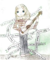 Kurt Cobain: Lyrical Legend (Color) by ajhistoric2