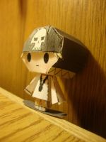 Chibi Beat Papercraft by AnimeGang