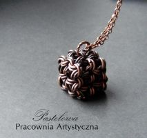 chainmaille cube by Pastely