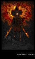 Archangel Michael by Sarmacki