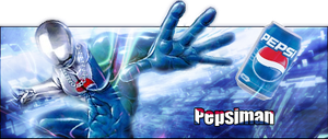 Pepsiman Signature by DarkLaicram