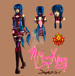 MFB OC - Mi Young King Ref by SpiritLullaby