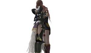 Final Fantasy XIII - Lightning and Serah 2 by SilverMoonCrystal
