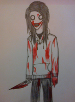 Jeff the killer by DarkZekrom5