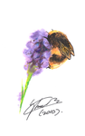 Lavender and Bee by f-sonic