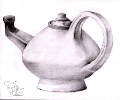 A Kettle! by Sherif-Shawer