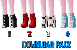DOWNLOAD: Shoe Pack 2 by SkinnyMandria