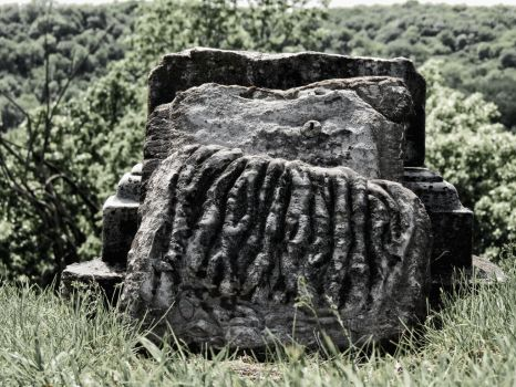 Crumbling Grave by GrindhouseCinema