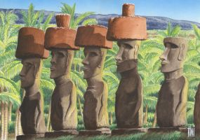 EASTER ISLAND_PERU. by toniart57