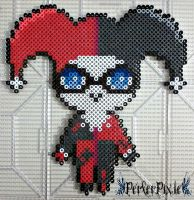 Cute Harley Quinn by PerlerPixie