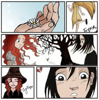 Snape and Lily by Stephanie-pattinson