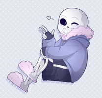 UNDERTALE: Sans by SecretNarcissist