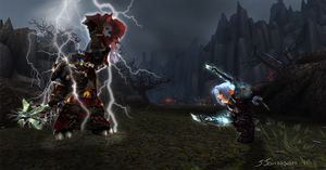 Showdown At Tol Barad by SwankyMutt