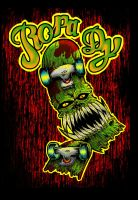 deck monsta tees by RidiculousArts