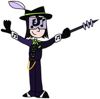 Dominique Durakov as The Music Meister by PantaroParatroopa