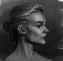 Carey Mulligan sketch by tonyob