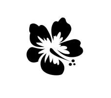 T-shirt Black Flowers logo by savianty