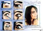 Rinoa Heartilly Make-up Tutorial by Eyes-0n-Me