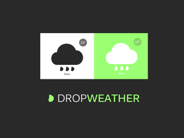 Drop Weather by lpzdesign
