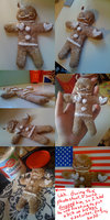 GINGERBREAD MAN AMERICA :I by CaptainJellyroll