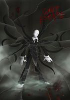 Slenderman by oOChErRyThEbErRyOo