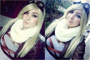 Ezreal female version - LoL by Dragunova-Cosplay