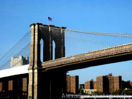 Brooklyn Bridge NYC by Bellasartbook