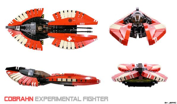 Cobrahn starfighter by Scharnvirk