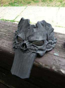 Death's Mask from Darksiders II WIP pre paint by AFXtuming