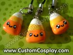 Candy corn charms by The-Cute-Storm