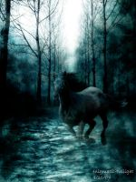 Ghostly Midnight Ride by enigmatic-twilight