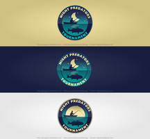 Fishing Tournament Logo by DianaGyms