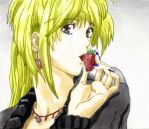 Misa Amane a color by Lord-Belmont99