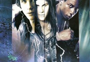 Percy jackson:the trio by DeviantHuntress