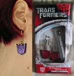 Transformers Earrings by Mysticom