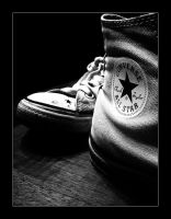 Converse Shoes by EleckAddict