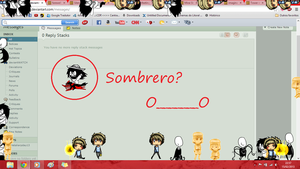 Sombrero?? O___O by Psychotic-Love