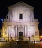 Exterior of Sant'Andrea della Valle by Rayelity