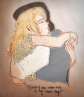 Wouldn't you rather have a Hug by Bamiebal