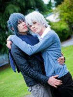 Shion and Nezumi by Hadukoushi