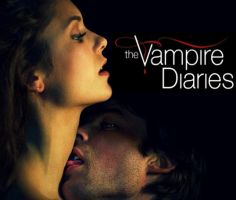 Elena+Damon: vampire diaries. by tator-gator
