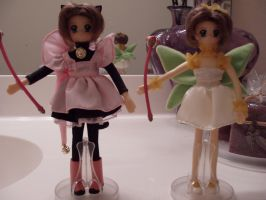 US Cardcaptor Sakura dolls by KittyChanBB