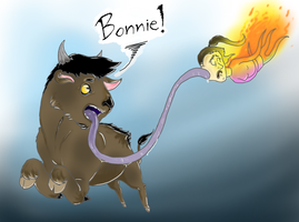 Bonnie !!.... what the hell ?! by Pa3sha3