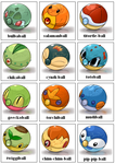 New Pokeballs Collection by Bestary