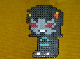 Homestuck: Terezi Pyrope Bead Sprite by LingeringSentiments