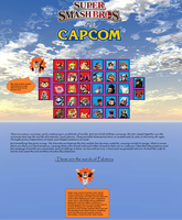 Super Smash Bros vs Capcom by Cybertoy00