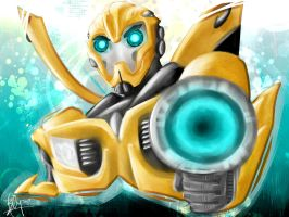 Bumblebee in Transformers Prime by Blip-NYA