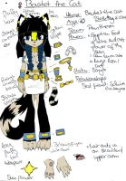 Bastet the Cat Reference by Aschenstern