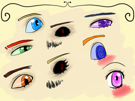 Eye Practice by Syravene